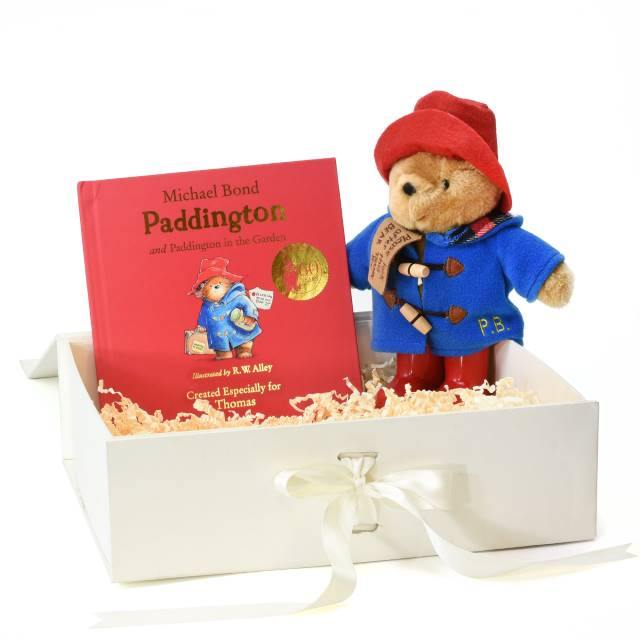Paddington Personalised Story Book and Plush Toy Giftset - Personalised Gift From Personally Presented