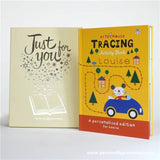 Arty Mouse Tracing Personalised Book Hardback - Personally Presented