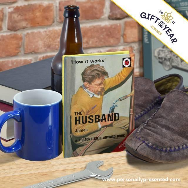 The Husband: A Ladybird Personalised Book