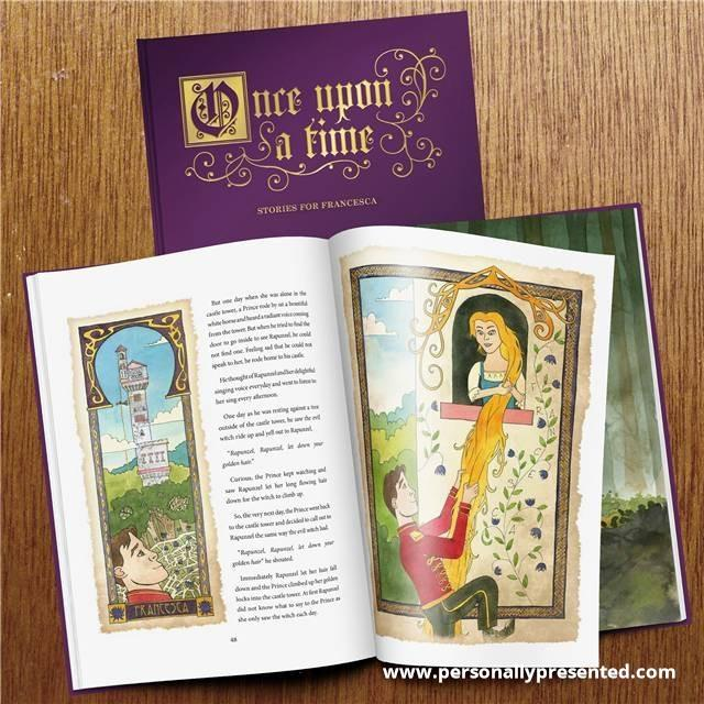 Once Upon a Time: A Personalised Timeless Collection of Fairy Tales - Personalised Gift From Personally Presented