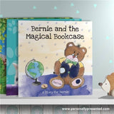 Personalised The Magical Bookcase Book - Personalised Gift From Personally Presented