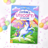 Personalised Unicorn Book - Hardback