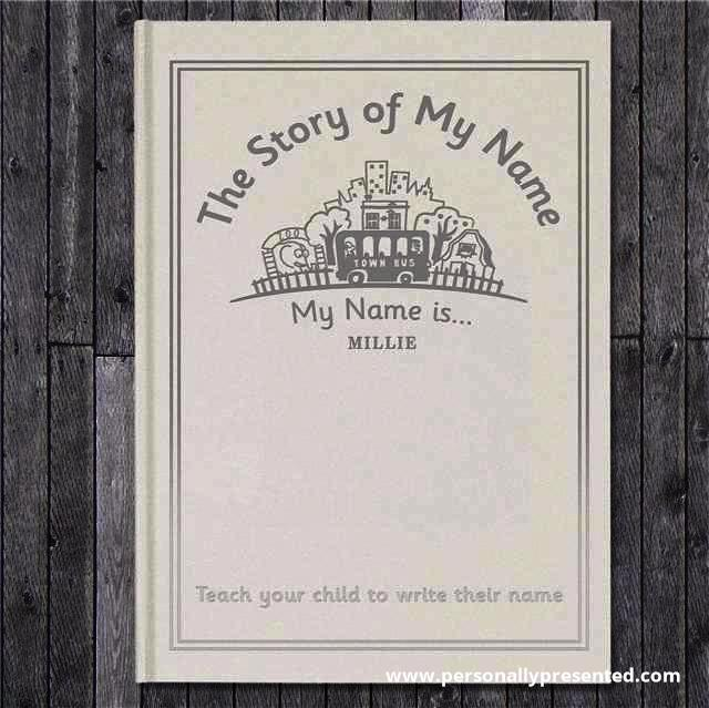 The Story of My Name Embossed Classic Hardback
