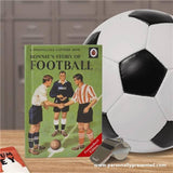 Football: A Ladybird Personalised Book - Personalised Gift From Personally Presented