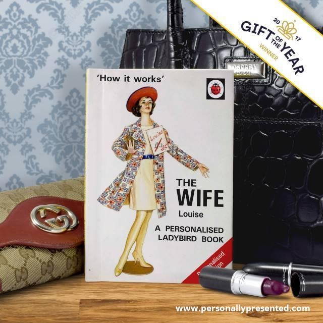 The Wife: A Ladybird Personalised Book - Personalised Gift From Personally Presented