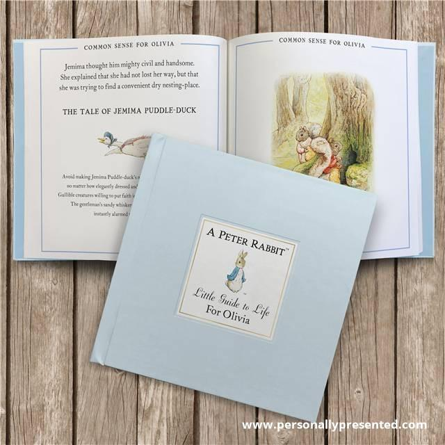 Personalised The Peter Rabbit Little Guide to Life Book - Personalised Gift From Personally Presented