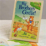 Personalised Big Brothers are Great Hardback Book - Personally Presented