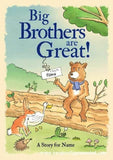 Personalised Big Brothers are Great Hardback Book - Personalised Gift From Personally Presented