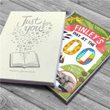 Personalised Day at the Zoo Hardback Book - Personalised Gift From Personally Presented