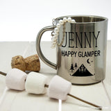 Personalised Happy Glamper Outdoor Mug - Personally Presented