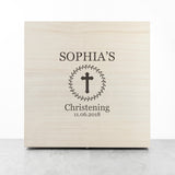Personalised Christening Memory Box - Personalised Gift From Personally Presented