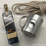 Personalised Gentlemen's Fishing Fuel Outdoor Mug - Personalised Gift From Personally Presented