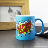 Superdad! Matte Coloured Mug