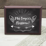 Personalised Teacher's Classroom Sign - Personalised Gift From Personally Presented