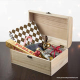Personalised Family Christmas Eve Chest With Decorative Bauble Design - Personalised Gift From Personally Presented