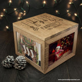 Personalised Baby's First Christmas Memory Box - Personalised Gift From Personally Presented