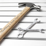 Personalised Wooden Hammer - Personalised Gift From Personally Presented