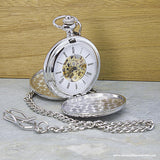 Personalised Valentine's Day Dual-Side Pocket Watch - Personalised Gift From Personally Presented