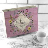 Personalised Botanical Mother's Day Tea Box - Personalised Gift From Personally Presented