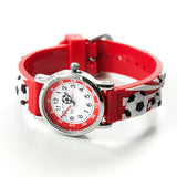 Kids Personalised Red Football Watch - Personalised Gift From Personally Presented