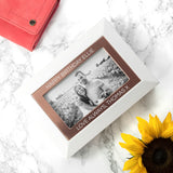Personalised White & Rose Gold Photo Jewellery Box - Personalised Gift From Personally Presented