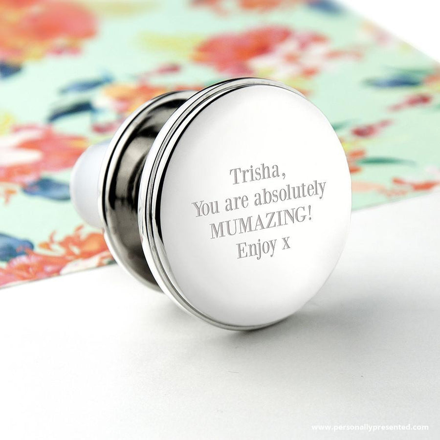 Personalised Bottle Stopper - Personalised Gift From Personally Presented