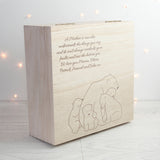 PERSONALISED MAMA BEAR KEEPSAKE BOX - Personalised Gift From Personally Presented