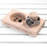 PERSONALISED WATCH/BRACELET STAND - Personalised Gift From Personally Presented