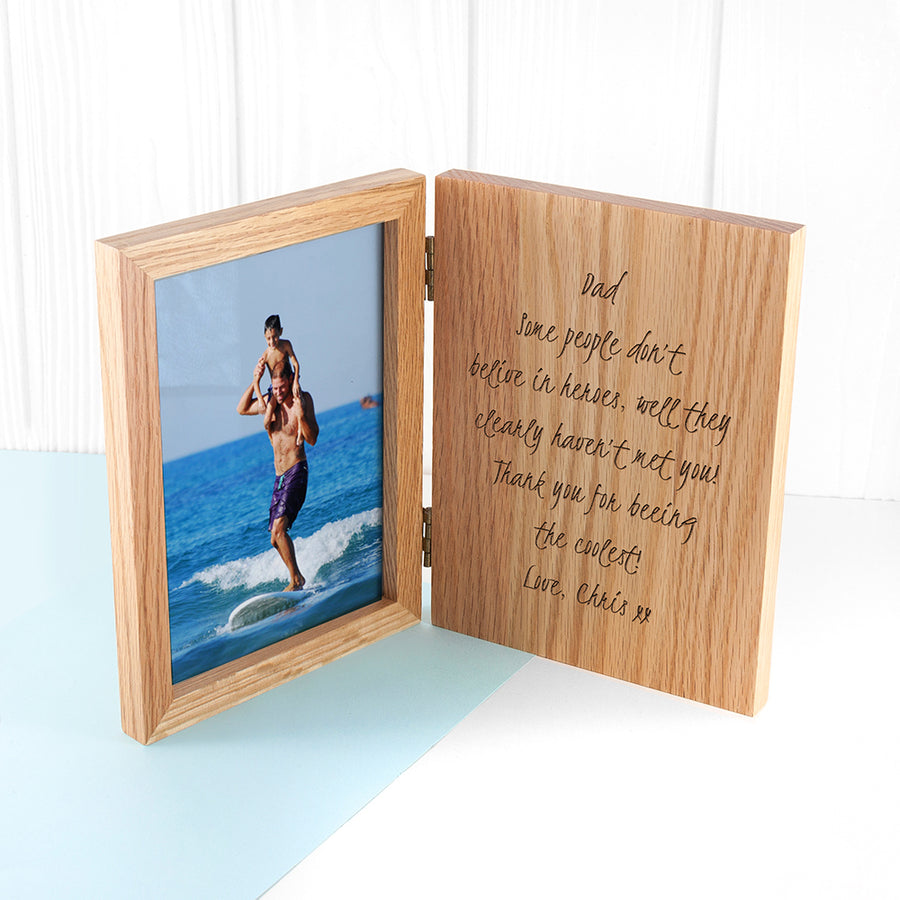 Personalised Book Photo Frame - Personalised Gift From Personally Presented