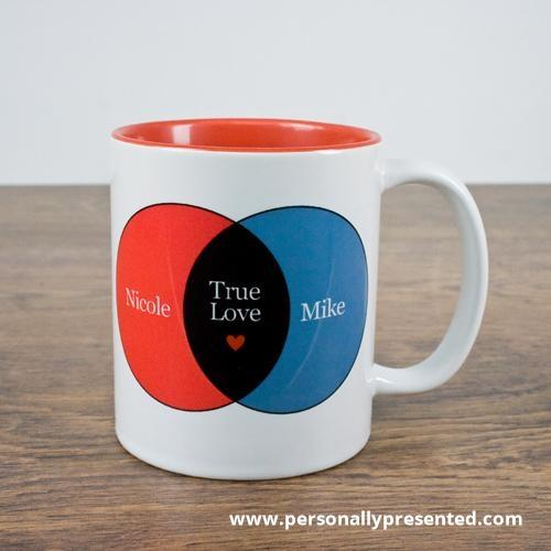 Personalised Mathematics Of Love Mug - Personalised Gift From Personally Presented