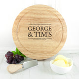 Personalised Couple Cheese Board - Personally Presented