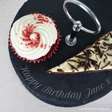 Personalised Two Tiered Slate Cake Stand - Personally Presented