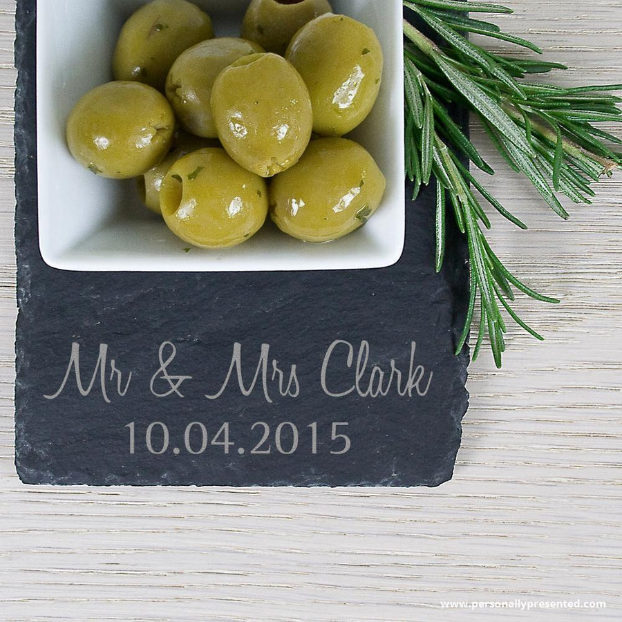 Personalised Meze Serving Platter - Personally Presented