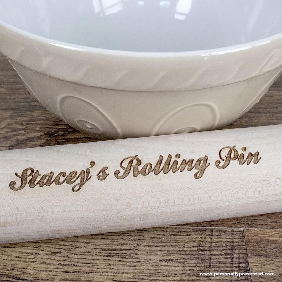 Personalised Rolling Pin - Personalised Gift From Personally Presented
