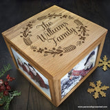 Personalised Family's Christmas Memory Box - Personalised Gift From Personally Presented