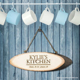 Personalised Rustic Kitchen Sign - Personalised Gift From Personally Presented