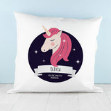Personalised Sparkle Squad Twilight Cushion Cover