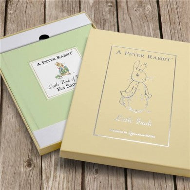 Personalised The Peter Rabbit Little Book of Virtue