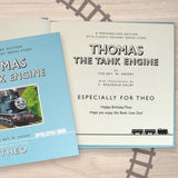Personalised Thomas the Tank Engine Book - Personalised Gift From Personally Presented