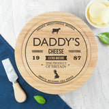 Personalised Traditional Brand Cheese Board Set - Personalised Gift From Personally Presented