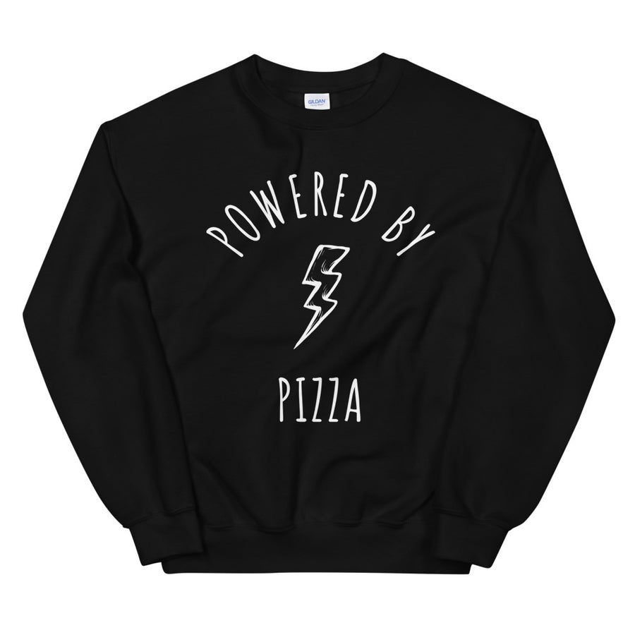 Personalised Powered By Dark Style Sweatshirt