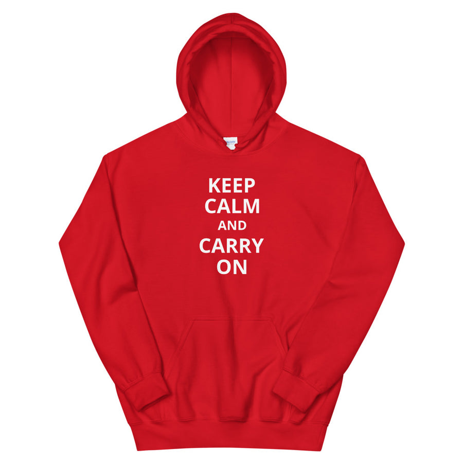 Personalised Keep Calm & Carry On Hoodie