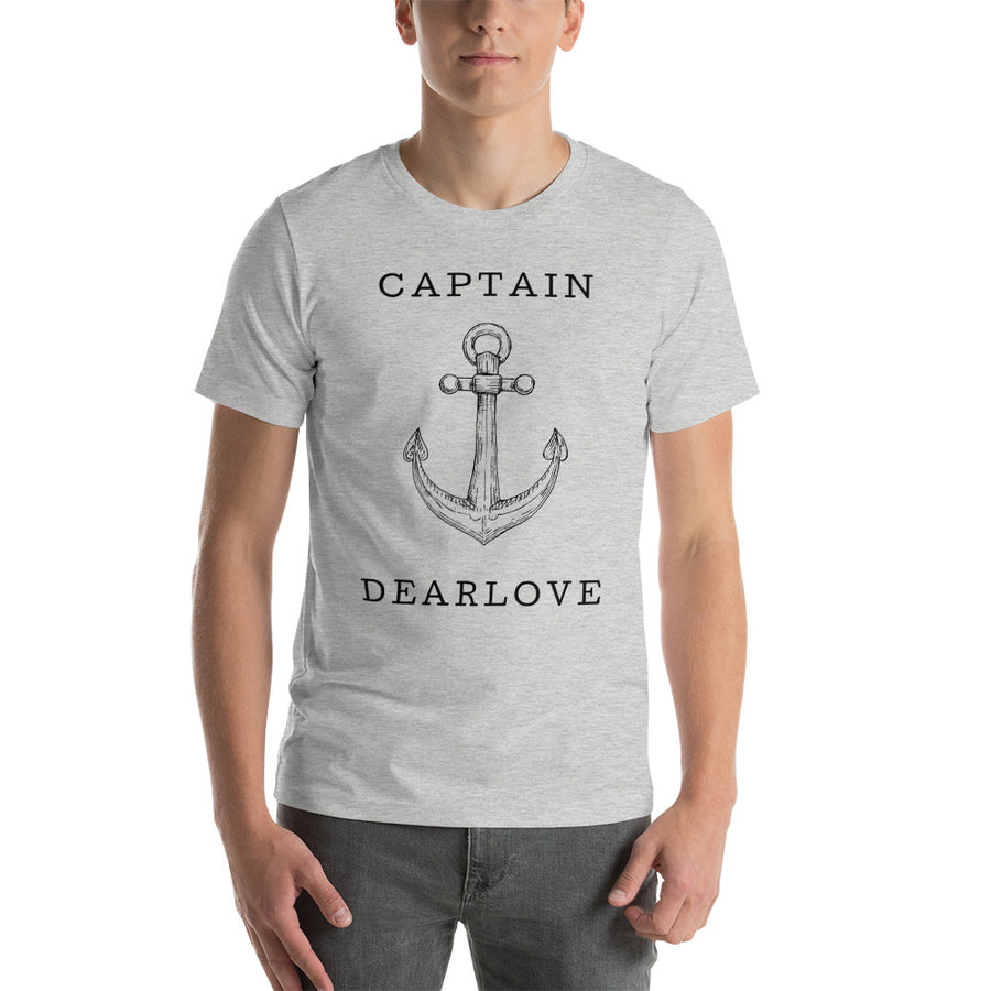 Personalised Captain Anchor Short-Sleeve T-Shirt