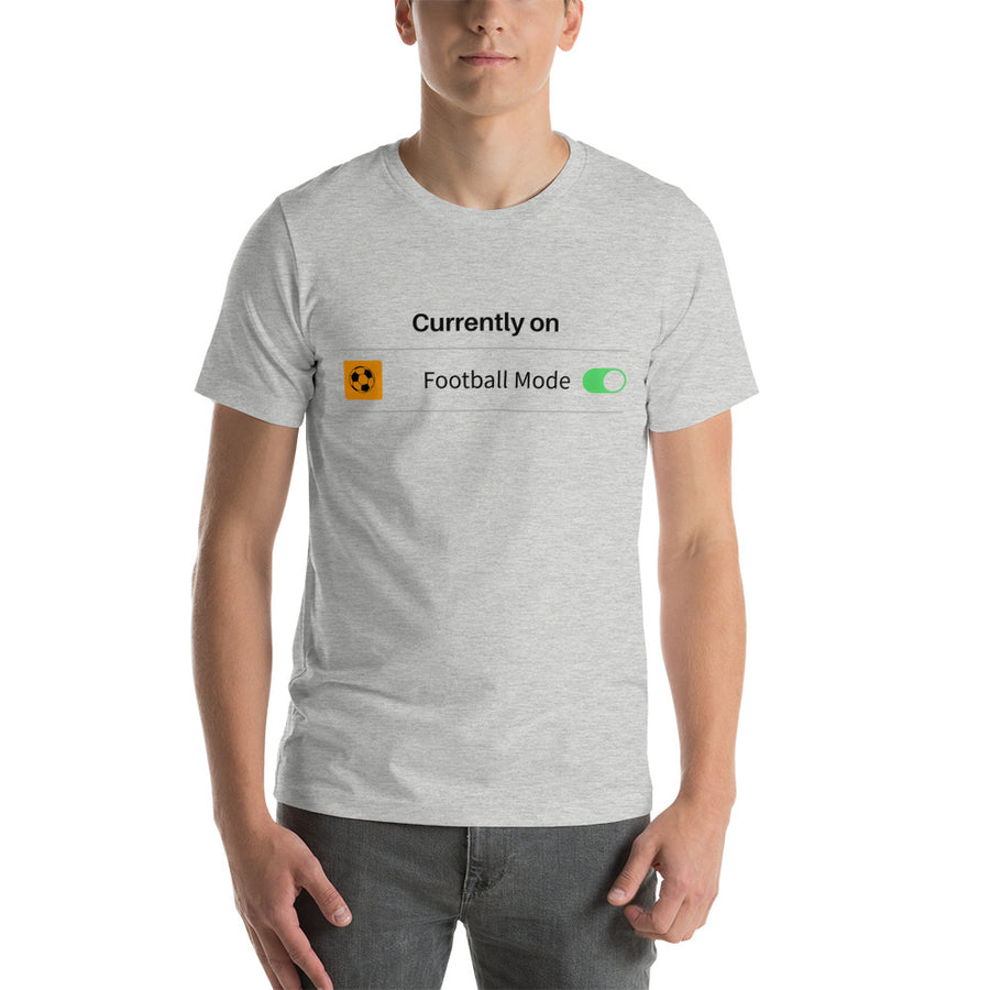 Personalised Football Mode On Short-Sleeve T-Shirt