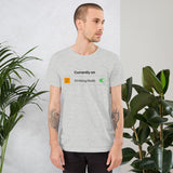 "Personalised ""Celebration Mode On"" Short-Sleeve T-Shirt"