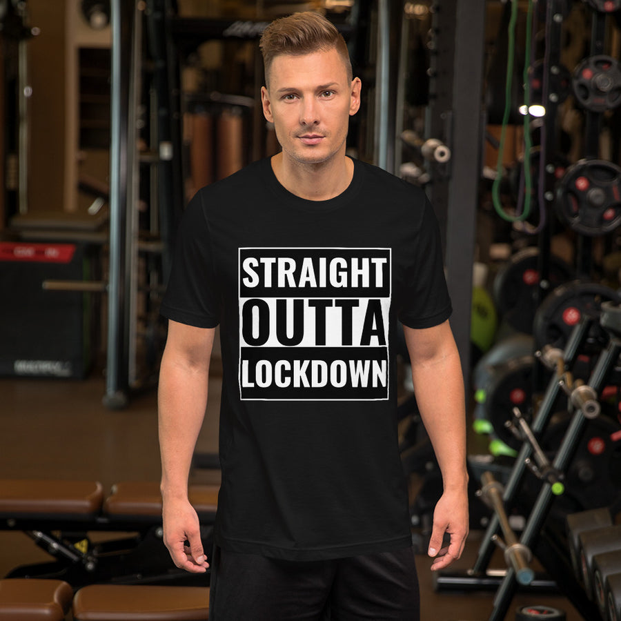 Personalised Straight Outta T-Shirt