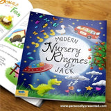 Personalised Modern Nursery Rhymes Book - Personalised Gift From Personally Presented