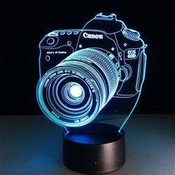3D LED Camera Hologram