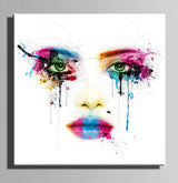 Colorful Drip Wall Art Set
