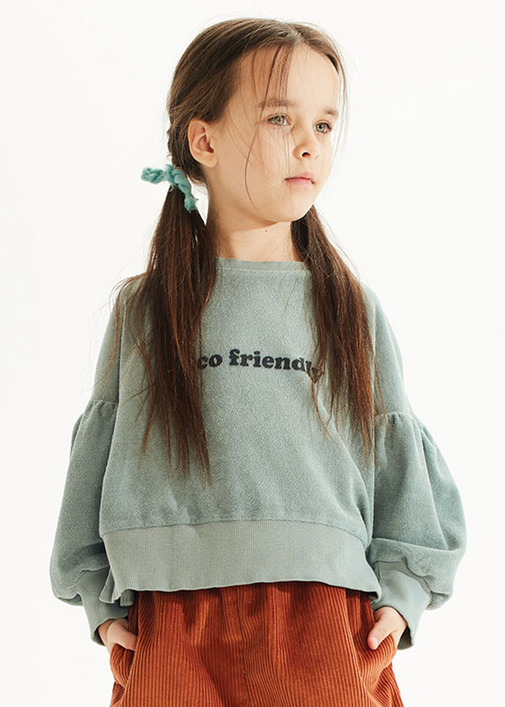 ECO FRIENDLY PUFF SWEATSHIRT